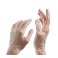Виниловые перчатки SunViv размер M